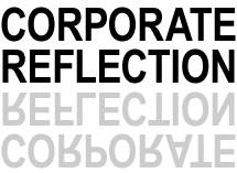 corporate reflection logo